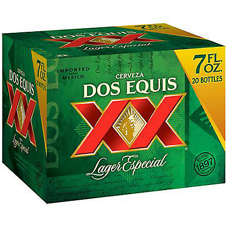 Dos Equis Lager Especial (7 fl. oz. bottle, 20 pk.)