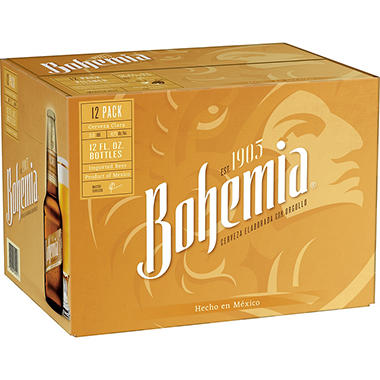 Bohemia Brand Beer (12 oz. bottles, 12 ct.)