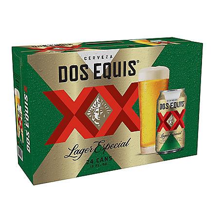 Dos Equis Lager Especial (12 fl. oz. can, 24 pk.)
