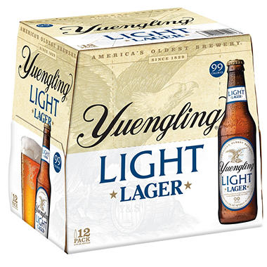 Yuengling Light Beer (12 fl. oz. bottle, 12 pk.)