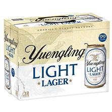 Yuengling Light Lager (12 fl. oz. can, 12 pk.)