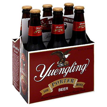 Yuengling Dark Brewed Porter (12 fl. oz. bottle, 6 pk.)