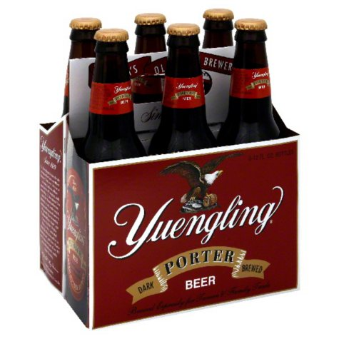 Yuengling Dark Brewed Porter (12 fl. oz. bottle, 6 pk.)