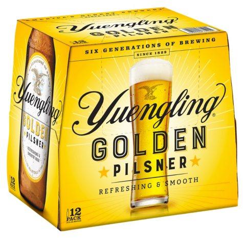Yuengling Golden Pilsner (12 fl. oz. bottle, 12 pk.)