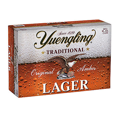 Yuengling Traditional Lager (12 fl. oz. cans, 24 pk.)