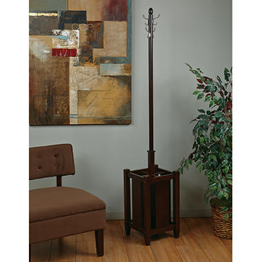 OSP Designs Espresso Collection Coat Rack - Espresso Finish