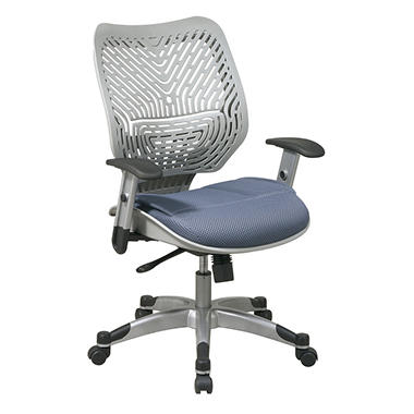 Space Self Adjusting SpaceFlex Back and Mesh Seat Manager's Chair - Various Colors