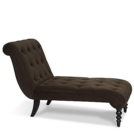 Curves Tufted Chaise (Various Colors)