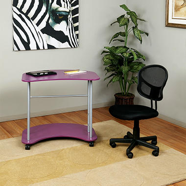 OSP Computer Desk - Purple