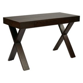 Ave Six Lane Desk, Espresso