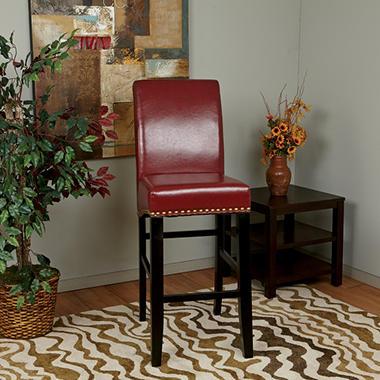 Osp Designs Parsons 30 Barstool Crimson Red Sam S Club
