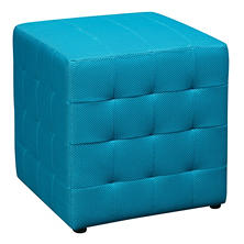 "Avenue Six Detour 15"" Fabric Cube - Blue"