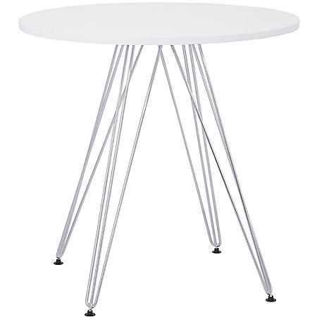 OSP Home Furnishings Eiffel Bistro Table, Various Colors