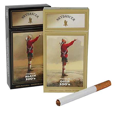 Skydancer Menthol Gold 100s Soft Pack (20 ct., 10 pk.)
