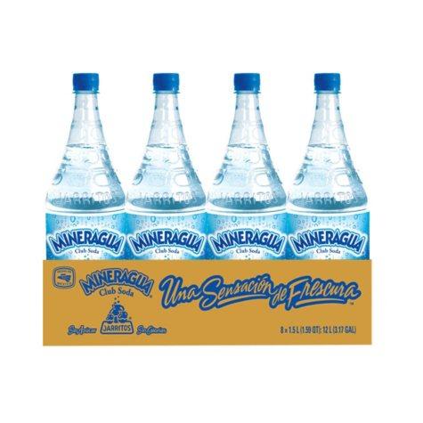 Mineragua Club Soda (1.5L bottle, 8 pk.)