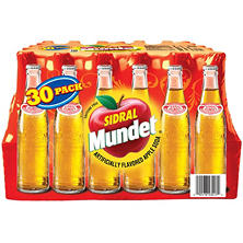 Sidral Mundet Apple Soda (11.16 oz. bottle, 30 ct.)