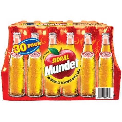 Sidral Mundet Apple Soda (11.16 oz. bottle, 30 ct.)