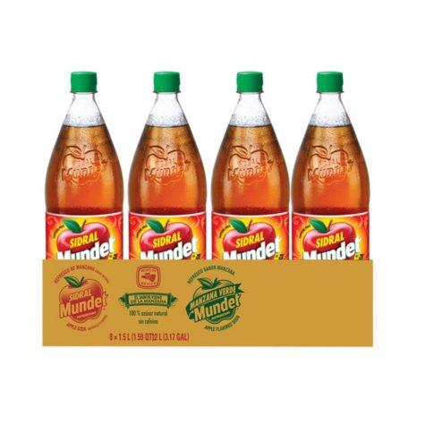 Sidral Mundet  (1.5L bottle, 8 pk.)