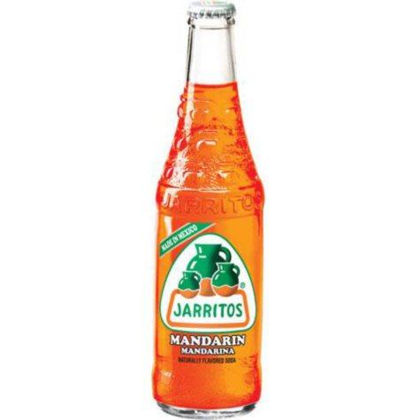 Jarritos Mandarin Soda (12 oz. glass bottles, 24 pk.)