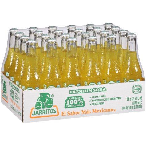 Jarritos Pineapple Soda (12.5 oz. glass bottles, 24 pk.)