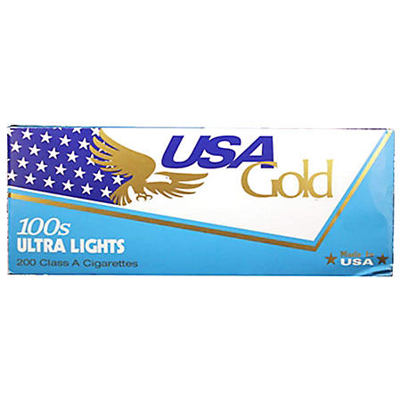 USA Gold Blue 100s Soft Pack (20 ct.,10 pk.)