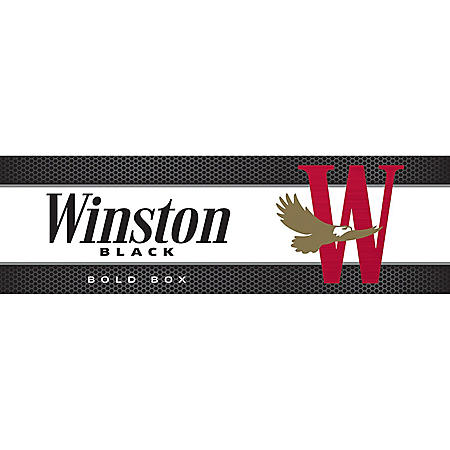 Winston Black King Box (20 ct., 10 pk.) $1.00 Off Per Pack