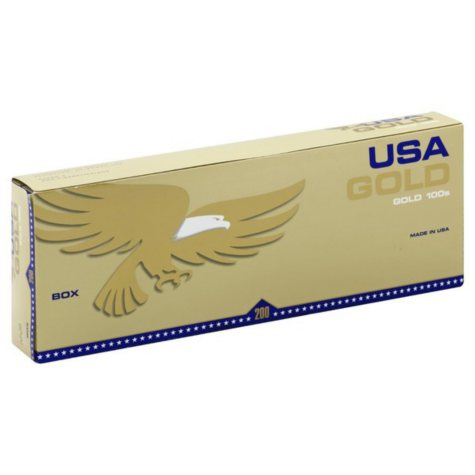 USA Gold Gold 100s Box (20 ct., 10 pk.)