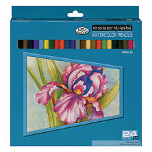 Watercolor Pencils 24/Pkg - Assorted