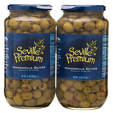 Stuffed Manzanilla Olives - 21 oz. 2 ct.