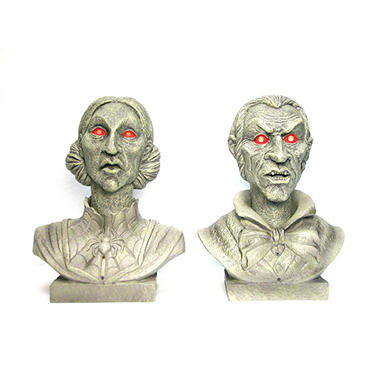 Interactive Talking Busts