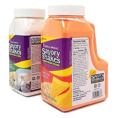Gold Medal Savory Shakes Combo (2 flavors)