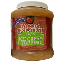 Gold Medal World's Greatest Topping, Apple (66 oz. container)