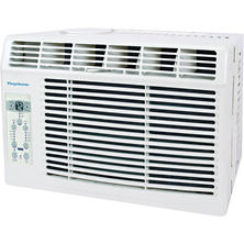 "Keystone HIgh Efficiency 5,000 BTU 115V Window-Mounted Air Conditioner with ""Follow Me"" LCD Remote Control"