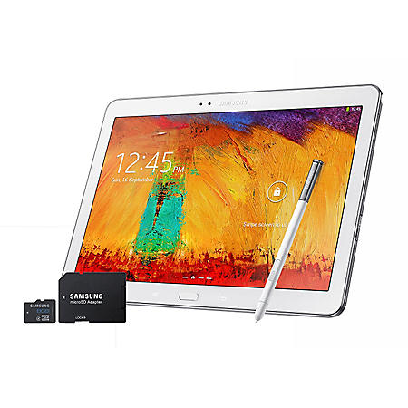 "10.1"" Samsung Galaxy Note 2 - 32GB White w/ S-Pen and 8GB microSD Memory Card"