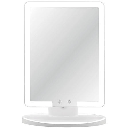 Thinkspace Large Lighted Makeup Mirror, Edge LED Lights