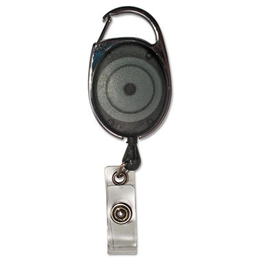 Advantus - Carabiner-Style Retractable ID Card Reel, 30