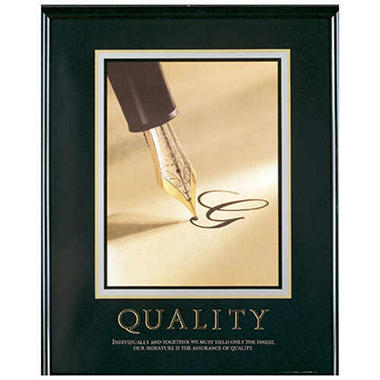 Quality - Framed - 24