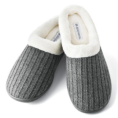 Dearfoams Ladies' Knit Slipper Clogs