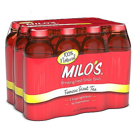 Milo's Famous Sweet Tea (12 oz., 12 pk.)