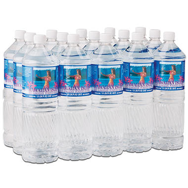 Hawaiian Isles Water - 15/1.5L bottles