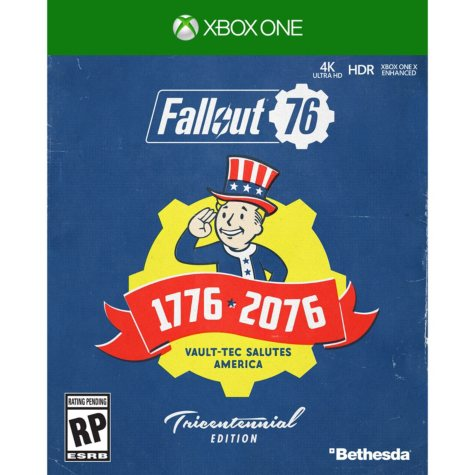 Fallout 76 Deluxe Edition, Xbox One, Bethesda