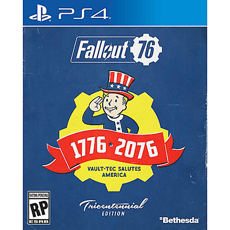 Fallout 76 Deluxe Edition, PS4, Bethesda