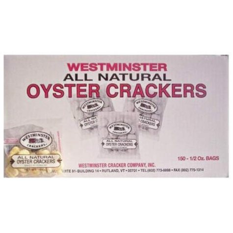 Westminster Oyster Crackers 1/2 oz - 150ct