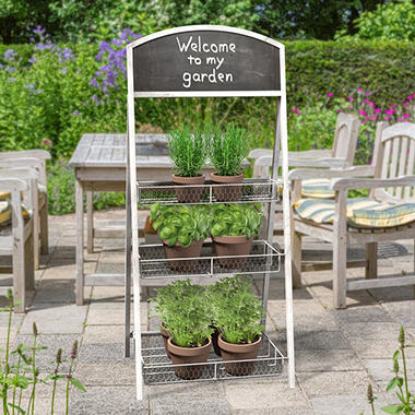 Chalkboard Plant Stand