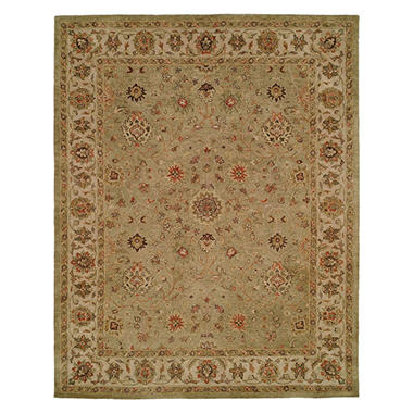 Empire Collection Hand-Tufted Wool Area Rug, Petit Floral Motif