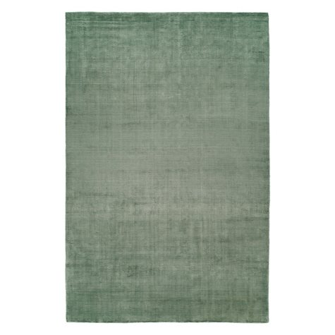 Nova Collection Handwoven Silkette Area Rug, Sea Mist (Assorted Sizes)