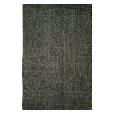 Nova Collection Hand Woven Wool And Silkette Area Rug, Granite (Assorted Sizes)