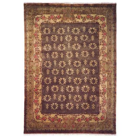Riviera Collection Handwoven Premium Wool Area Rug, Sage Green (Assorted Sizes)