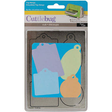 Cuttlebug A2 Die - Tag Alongs