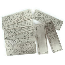 "Cuttlebug 2""X6"" Alphabet Die Set - Red Tag Sale"